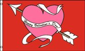 Happy Valentine's Day 3x5 Foot Polyester Flag