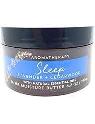 Bath Body Works Aromatherapy Moisture Butter, Sleep Lavender Cedarwood