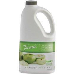 Torani Green Apple Real Fruit Smoothie Mix, 64 - Juice Mix Apple