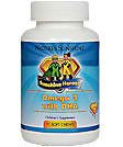 Nature's Sunshine Sunshine Heroes Omega 3 with DHA Supports the Nervous and Circulatory Systems (90 Soft Chews)