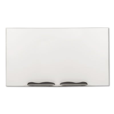 Ultra-Trim Magnetic Board, Dry Erase Porcelain-on Steel, 72 x 48, White/Silver, Sold as 1 Each by Best-Rite