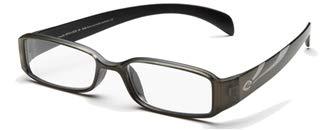 Optx20/20 Ecoclear Ozone Bio Based Reading Glasses, Matte Black, Matte Green Metalic +200