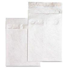 End Expansion White Plain Envelopes (Tyvek Open-End Envelopes,Plain,10
