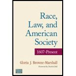 Read Online Race, Law, & American Society 1607 to Present (04) by Browne-Marshall, Gloria J [Paperback (2007)] pdf