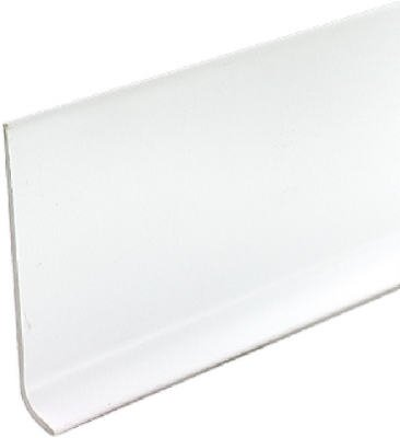 - M-D Building Products 75697 2-1/2-Inch by 4-Feet Dry Back Vinyl Wall Base, White