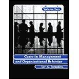 Cases in Management & Organ Behavior, Volume 2 (02) by Tompkins, Teri C [Paperback (2001)]