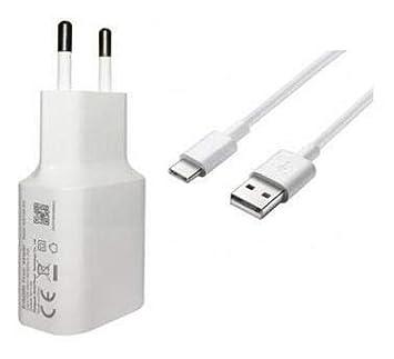 Movilux_ES Cargador USB Modelo MDY-09-EW con Cable USB Tipo C, Compatible con Xiaomi Redmi Note 7 Pro