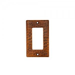 Copper Single Switchplate Cover - Set of 2