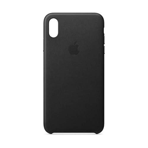 chollos oferta descuentos barato Apple Funda Leather Case para el iPhone XS Max Negro