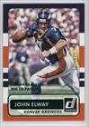 John Elway #27/300 (Football Card) 2015 Panini Donruss - [Base] - Stat Line Career #166