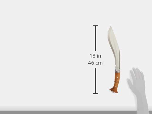 EGKH. Genuine Gurkha Full Tang Kukri Knife - 11'' Blade Iraqi Operation Khukuri or Khukris - Handmade By Ex Gurkha Khukuri House in Nepal by EGKH. (Image #6)