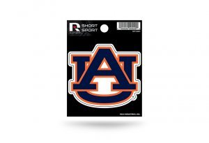 Rico Industries NCAA Auburn Tigers Die Cut Team Logo Short Sport Sticker