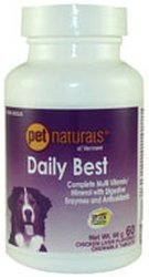 PET NATURALS OF VERMONT Daily Best Motion For Dogs 120 TAB