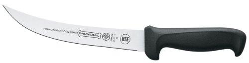 Mundial 5602-8 8-Inch Breaking Knife, Black