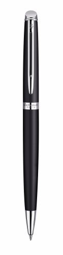 Waterman Hemisphere Matte Black CT (Chrome Trim) Ballpoint Pen - 1782300 Ct Slim Ballpoint Pen
