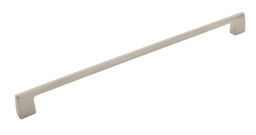 Amerock BP55371G10 Riva 18 in (457 mm) Center-to-Center Satin Nickel Appliance Pull by Amerock