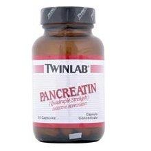 50 Capsules Twinlab - Twinlab Pancreatin Caps, 50 ct