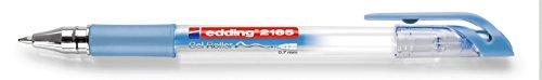 edding Gelroller edding 2185,  0,7 mm, blau-metallic