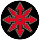 Symbol Pinback Button - CHAOS SYMBOL Pinback Button 1.25