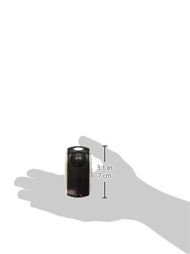 Alarma personal de bolsillo Securikey SEC16070 color negro sirena de 120 dB, 75 x 40 mm