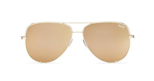 Quay Australia Sunglasses (High Key, - Key Quay High Australia Gold