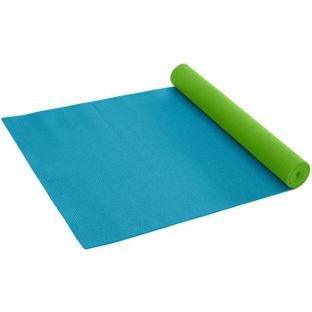 Gaiam - Esterilla de yoga solid 3 mm - Verde y azul: Amazon ...