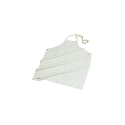 Apron Service Carlisle Food (Carlisle Heavy Duty White Wrap Around Nitrille Apron -- 1 each.)