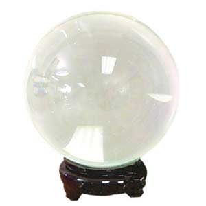 Crystal Ball Ouiji Séance Toy Search For Wisdom Divination Tool 55mm Clear Fine QuartzCrystal 2 1/4''