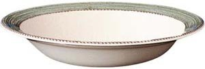 (Wedgwood Sarah's Garden Green Pasta Bowl / Rimmed Soup 11.25