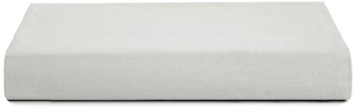 Calvin Klein Home Briar Double Row Cord California King Fitted Sheet, Pale (Calvin Klein Percale Flat Sheet)