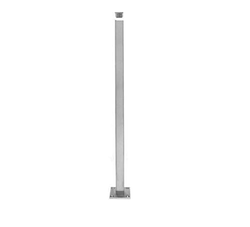 (Stainless Steel 316 Grade Handrail Railing Systems Square Post 1-1/2