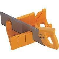 TOOLBASIX JL424023L Mitre Plastic Box with Saw