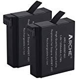 ARCHE Battery  and LED Dual Charger for AHDBT-401, AHDBT401, AHBBP-401 and GoPro Hero 4, HERO 4 Black, HERO 4 Silver - NOT...