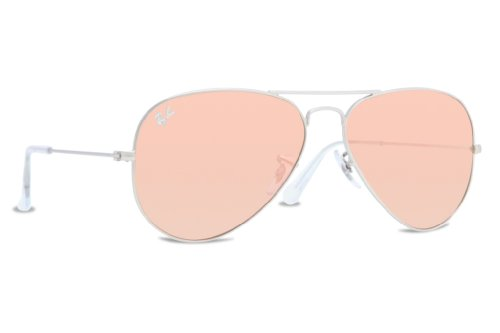 Galleon - Ray Ban Women s RB3025 019 Z2 Silver copper Flash, Aviator 58mm  Sunglasses adc6c70c74c5