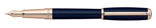S.T. Dupont Elysee Fountain Pen Blue Lacquer