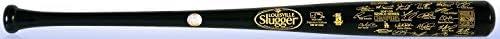 LA Dodgers 2020 World Series Champions Team Signature Louisville Slugger Bat