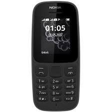 hot sale online cf5ed 51e9c Nokia 105 Dual SIM (Black)