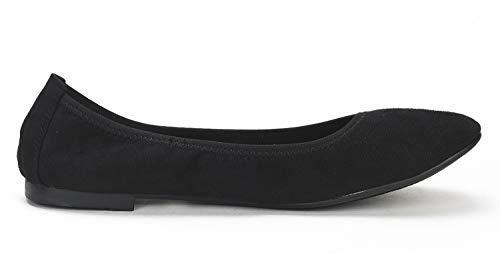 DREAM PAIRS Women's Sole-Happy Ballerina Walking Flats Shoes
