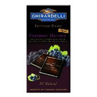 Ghirardelli Chocolate Intense Dark Bar, Cabernet Matinee, 3.5-Ounce Bars (Pack of 4) have a problem Contact 24 hour service Thank (Caro Cabernet)