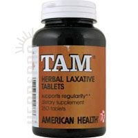 American Health Tam Natural - American Health Tam Natural Herb Laxative, 250 Tablets - 2 Pack