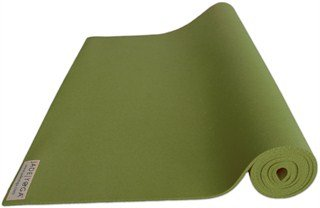 Jade Harmony Professional Yoga Mat - Travel Size Olive Green ...
