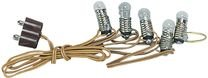 Kahlert Licht 60907 - Minipuppenzubehör - 5 Klare Glühlampen Rulke060907