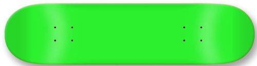 Moose Blank - Moose Blank Skateboard Deck, Neon Green, 7.75-Inch