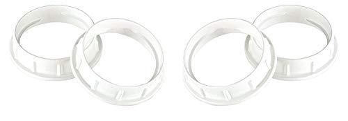 Westinghouse 7000100 Pack of 2 Aluminum Shade Rings For Medium-Base Sockets (Socket Fixture)