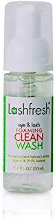 Lashfresh Foaming Eye & Lash Clean Wash for Eyelash Extensions and Natural Lashes 50ml