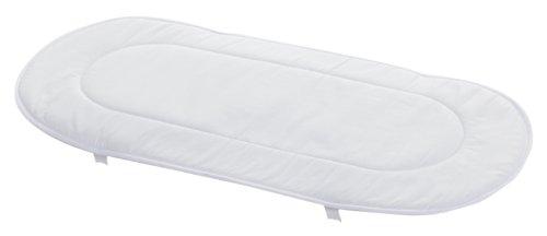 Cambrass 3036 - Protector de colchón impermeable para capazo/carro, 35 x 73 cm, color blanco