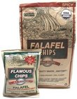 Flamous Brands Falafel Spicy Chips, 8 Ounce - 12 per case.