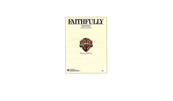 Faithfully - Sheet Music - (Journey - Steve Perry -, Piano/Vocal ...