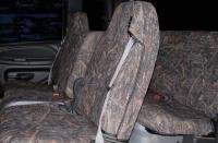 Durafit Seat Covers, D1180-V8-Dodge Ram Quad Cab 1500-3500 40/20/40 Split Seat With...