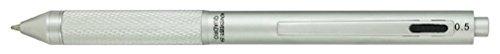 One Multifunction Pen - MONTEVERDE USA Quadro 4-in-1 Multifunction Pen Silver (MV35511)